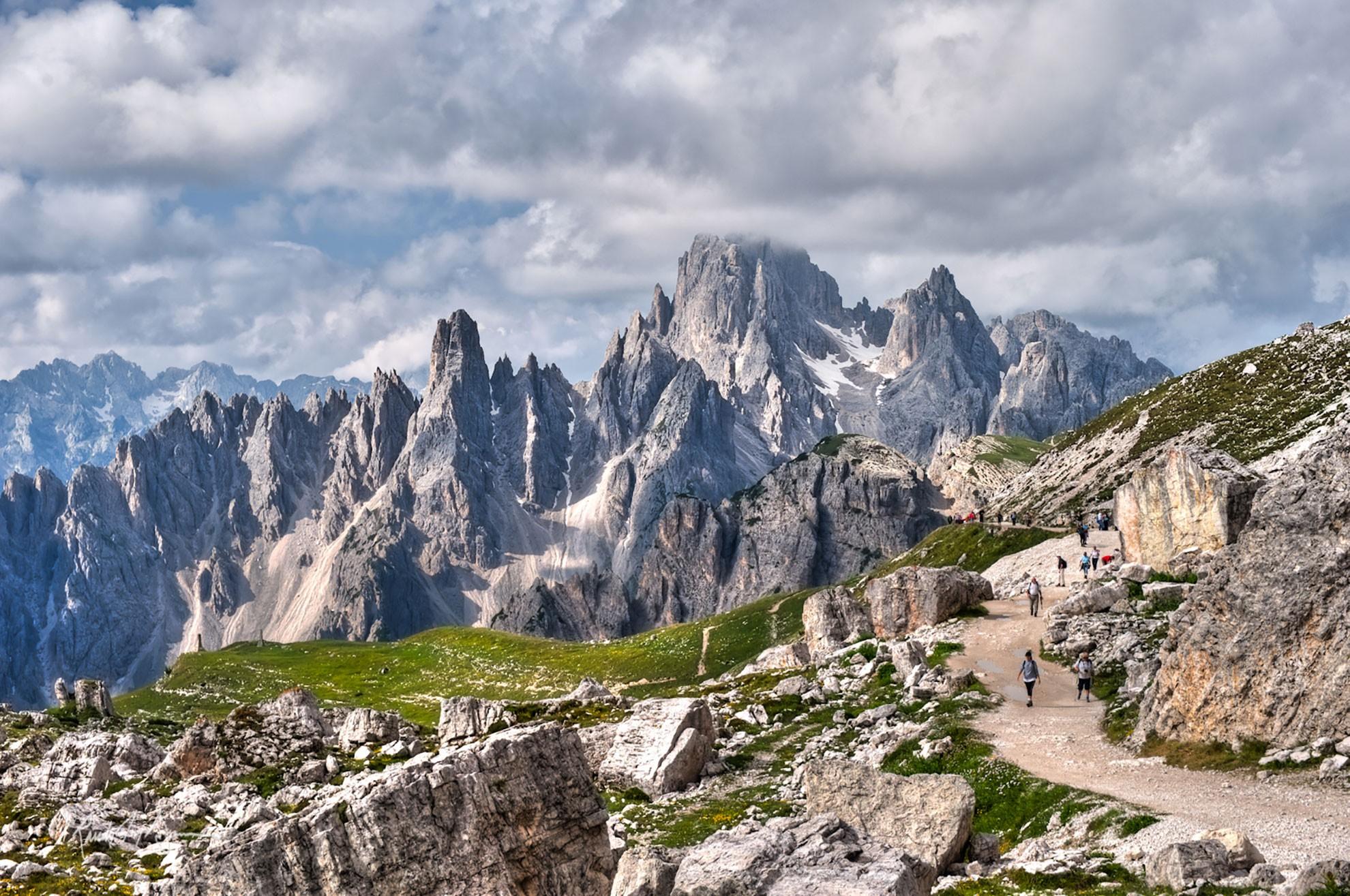 Hiking And Via Ferrata Tour Alta Badia Dolomite Mountains