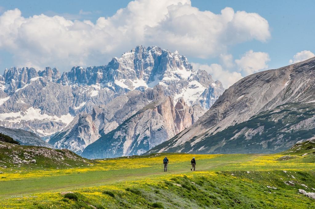 Dolomites Hike Alta Badia To Cortina Dolomite Mountains