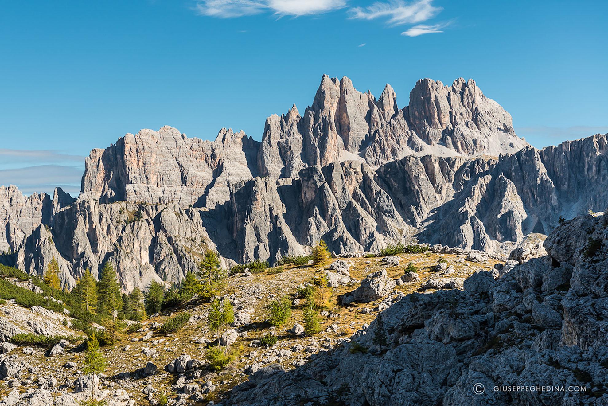 Cortina Getaway Hiking Trip Dolomite Mountains