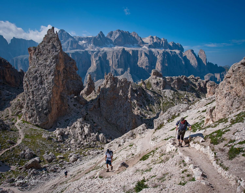 Dolomites Hike Cortina To Alta Badia Dolomite Mountains