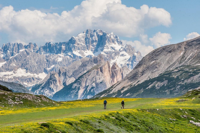 Due Due Cortina Srl.Hike Italy Alta Badia To Cortina Dolomite Mountains