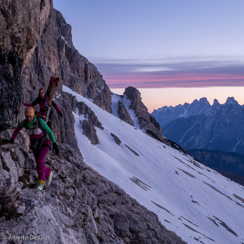 Cortina Backcountry Dolomites Ski Dolomite Mountains
