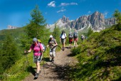 Hiking from Cortina d'Ampezzo to Alta Badia – 7 Days