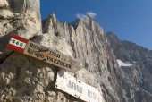 Via Ferrata Traverse in the Dolomites - 7 days