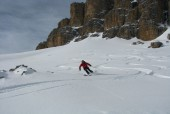 Dolomites Off-Piste Ski Safari Traverse - 7 days
