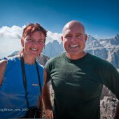 Karin & Randy - Dolomites photo safari
