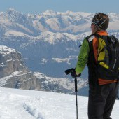 Ski Touring in the Sella Massif, Dolomites