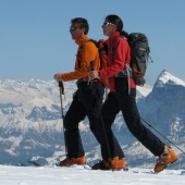 Ski Touring in the Dolomites