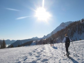 Skitouring in the Dolomites