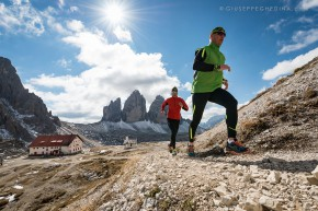 Trail Running in the Dolomites