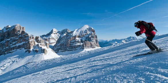 SIMPLY AMAZING: Skiing the Unbelievably Beautiful Italian Dolomite Mountains