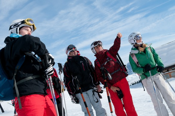 Skiing and Snowboarding Trip Activity Levels
