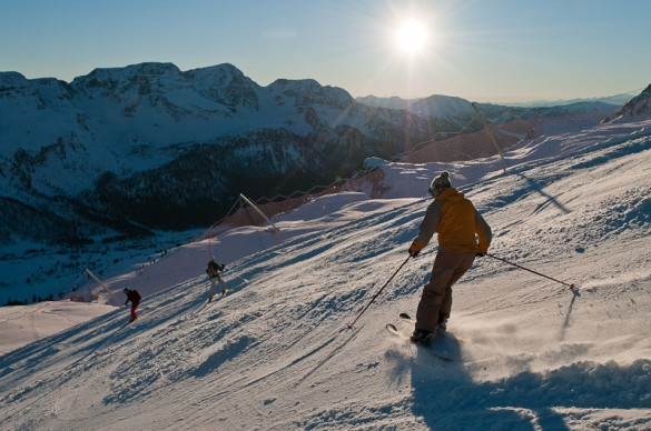 Ski Safari in the Dolomites