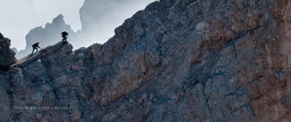 Via Ferrata degli Alpini, Col dei Bos, 2559m