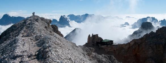 Via Ferrata Vallon Dolomites, Sella, Sasso delle Nove, 2904m