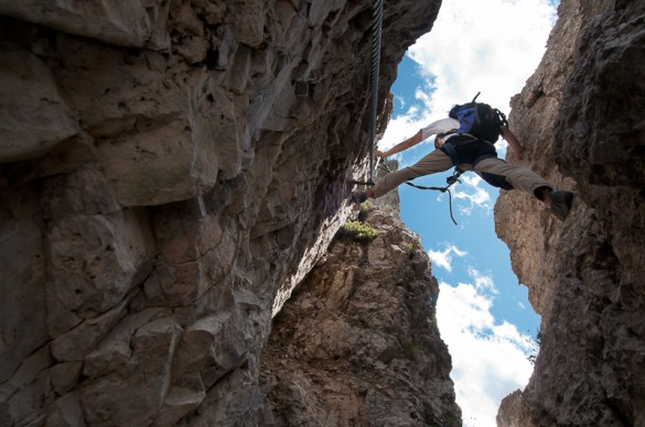TRAVEL + PHOTO – Climbing the Via Ferrata in Italy by Nathan Busscher