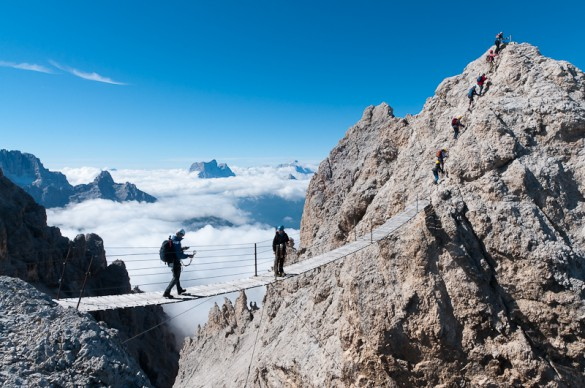 Explore the Dolomites: Hiking & Via Ferrata Experience