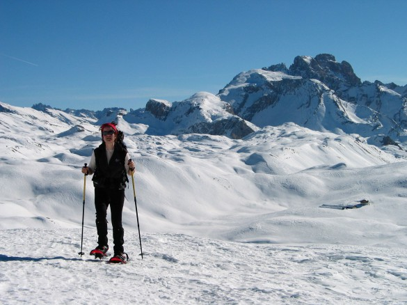 THE HUFFINGTON POST – Snowshoeing in the Dolomites