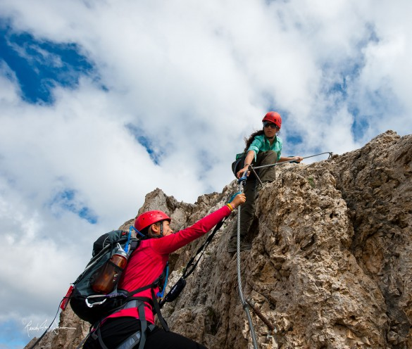 5 Difficult Via Ferrata in the Dolomites