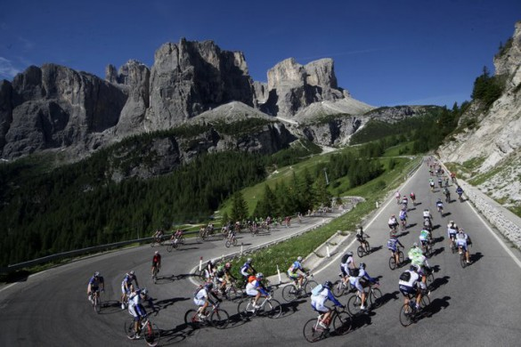 Bike Races in the Dolomites