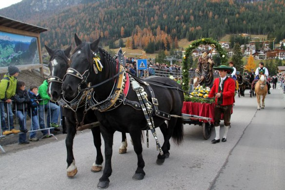Saint Leonhard Horse Parade