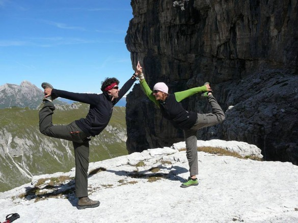 TRAVEL WEEKLY.COM – Sun salutations in Italy's Dolomites