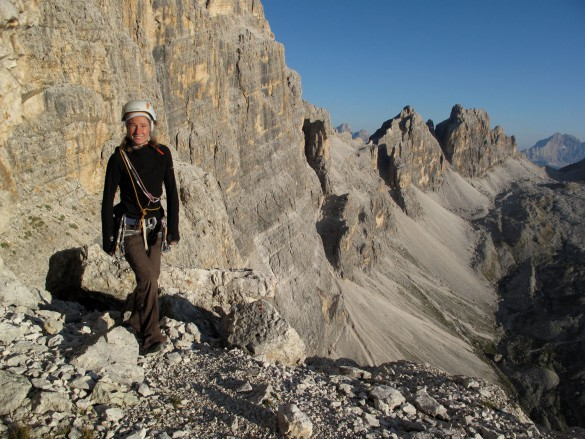 Rock Climbing Course in the Dolomites