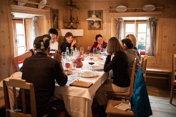 Food to Expect at Rifugios in Winter
