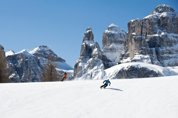 Gourmet Ski Safari in the Dolomites