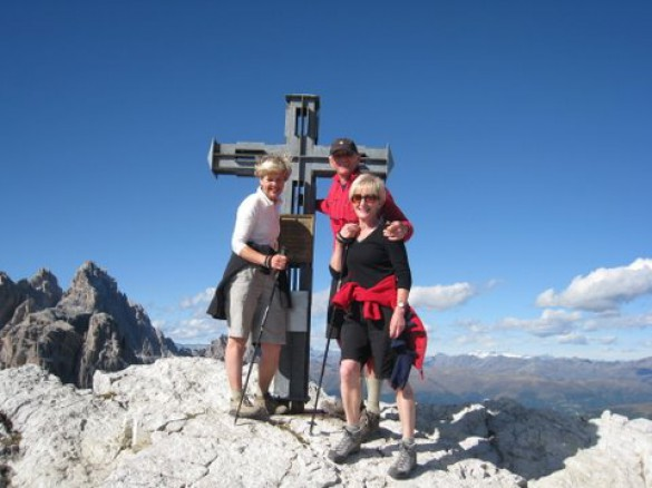 Hiking in the Dolomiti di Sesto