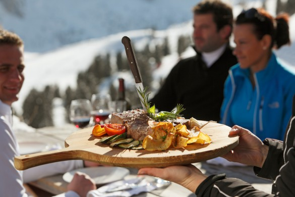 Luxury Gourmet Ski Safari in the Dolomites: A Gastronomic Skiing Adventure