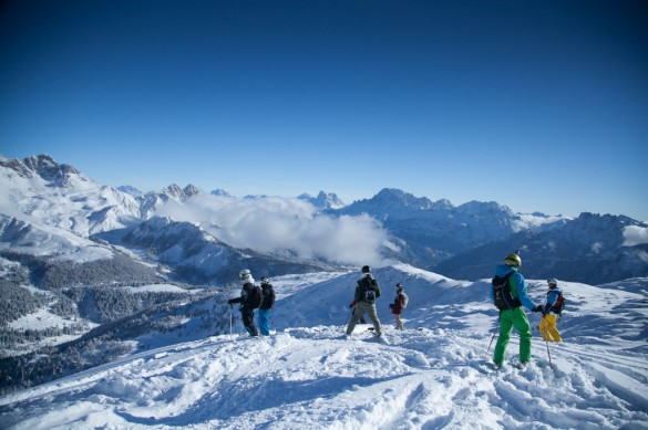 Dolomites On- and Off-Piste Ski Safari Traverse