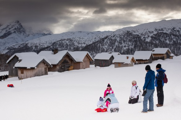 Why The Dolomites Are the Place to Be for Winter Family Adventure