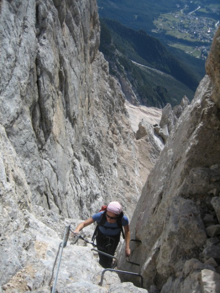 TRAVEL PULSE – Dolomite Mountains Offers Via Ferrata Climbing