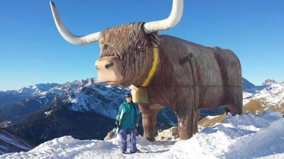 Pre-Holiday Special: Dolomites Ski Tour with One Rifugio Night