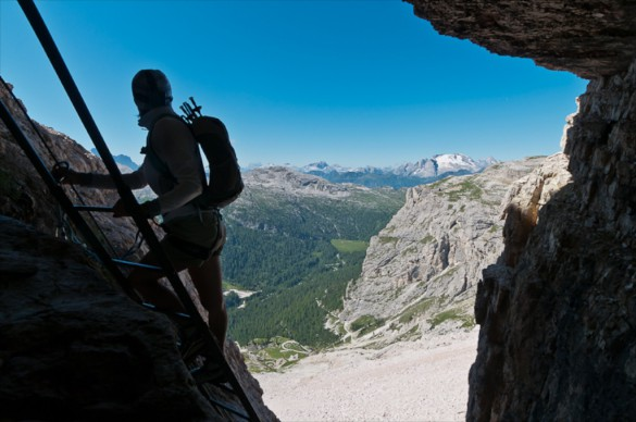 Via Ferrata Trip Activity Levels