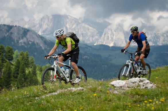Mountain Biking in the Dolomites Ladin Valleys