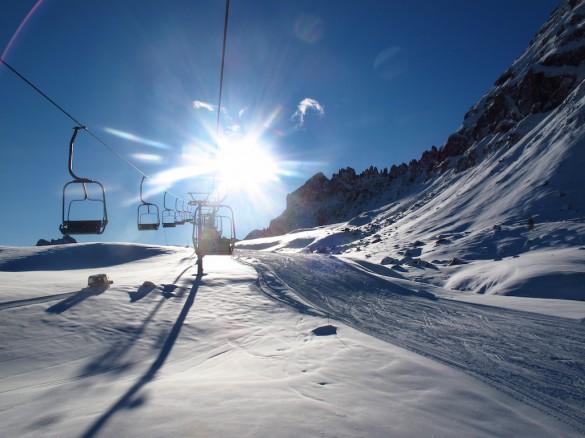 Ski from Alta Badia to Cortina d'Ampezzo, March 2016