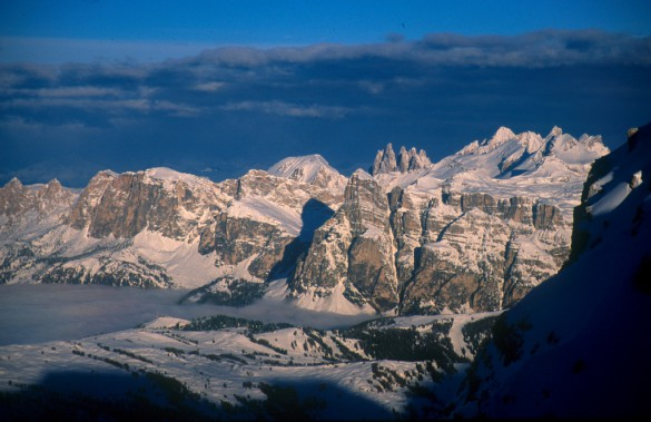 SNOW MAGAZINE -  A Moveable Mountain Feast in the Dolomites Eating and Living La Dolce Vita