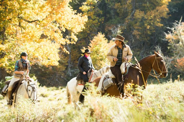 FINANCIAL TIMES - Horseriding in Patagonia