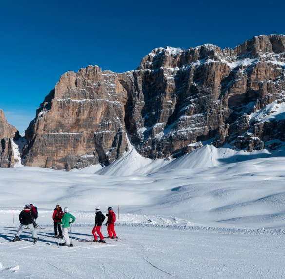 Glamorous Ski Safari Experience in the Dolomites –  in collaboration with 'Rosa Alpina Hotel & SPA'