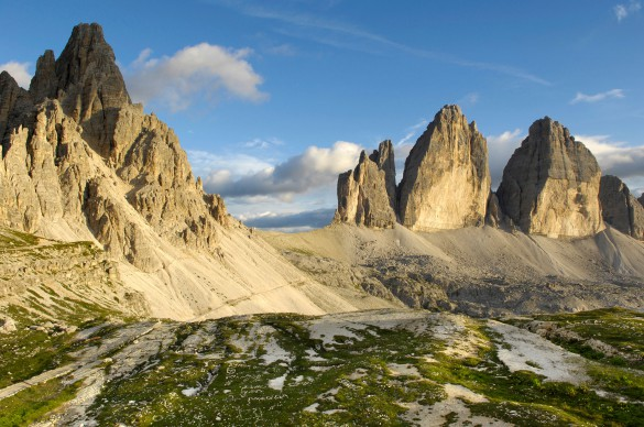 Hiking Alta Via N.4 of the Dolomites
