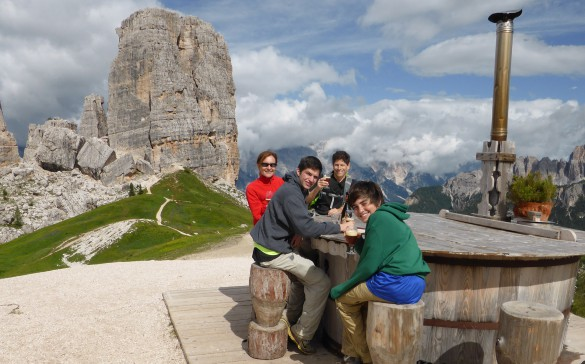 Family Adventure in the Dolomites