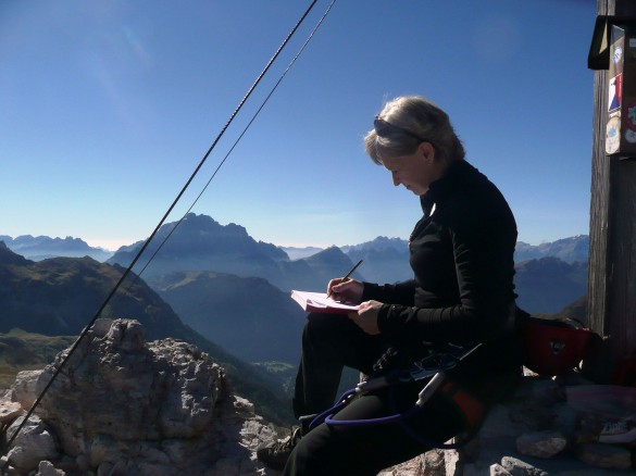 Hiking Traverse in the Dolomites with Via Ferrata Adventure