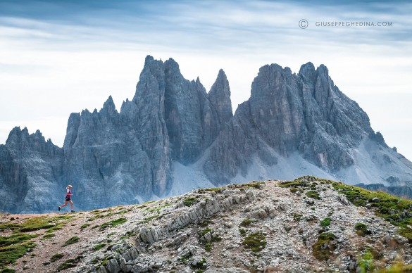 Trail Running the Alta Via N.1 of the Dolomites