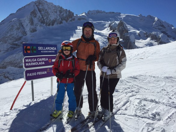 Self Guided Ski Safari in the Dolomites