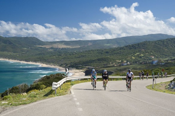 Road bike trip in Sardinia