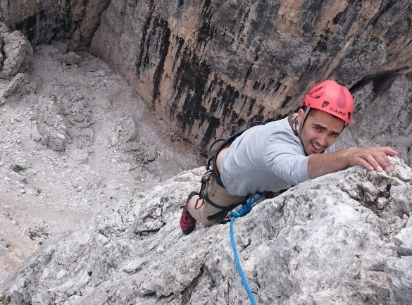 Via Ferrata Adventure in the Dolomites