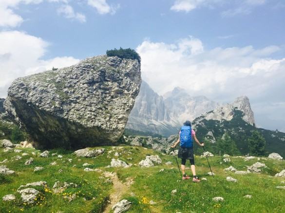 Hiking the Alta Via Nr. 1 in the Dolomites