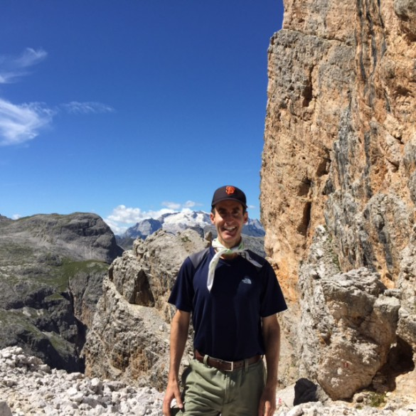 Hiking the Alta Via Nr. 1 in the Dolomites - part I